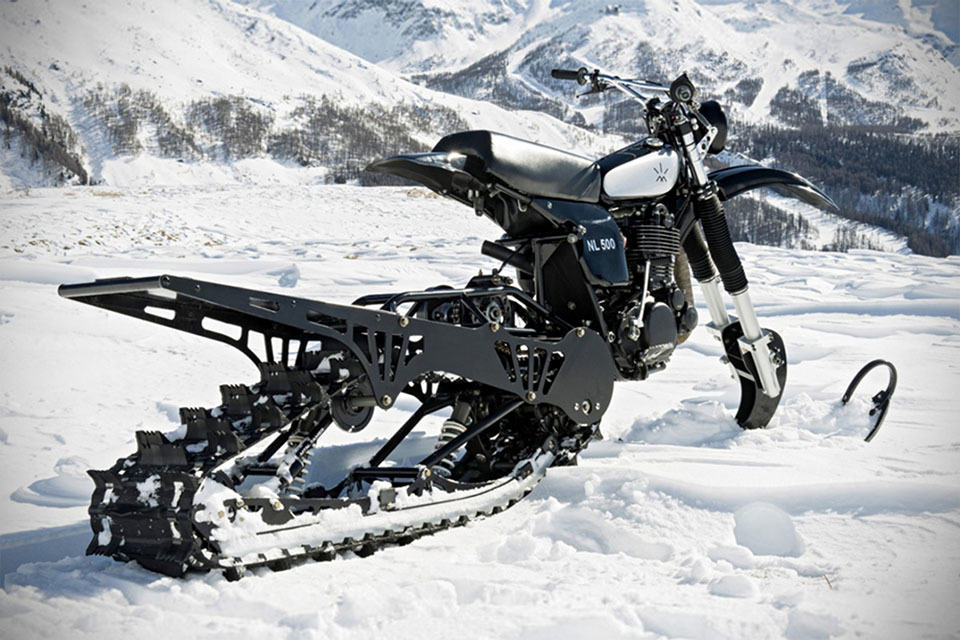 Northern Lights Optic S Promotional Snow Bike Is A Classic Yamaha