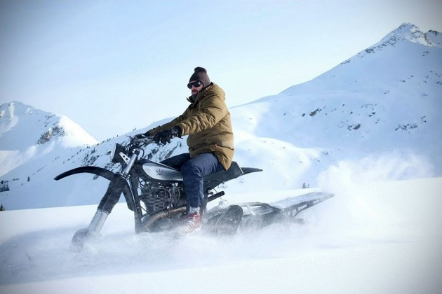 Yamaha HL500 Snow Bike
