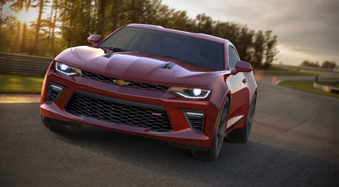 2016 Chevrolet Camaro Unveiled, is Leaner and Packs More Horses