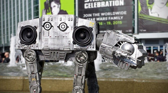 AT-BT Boombox: A Delightful Boombox in the Shape of Star Wars AT-AT