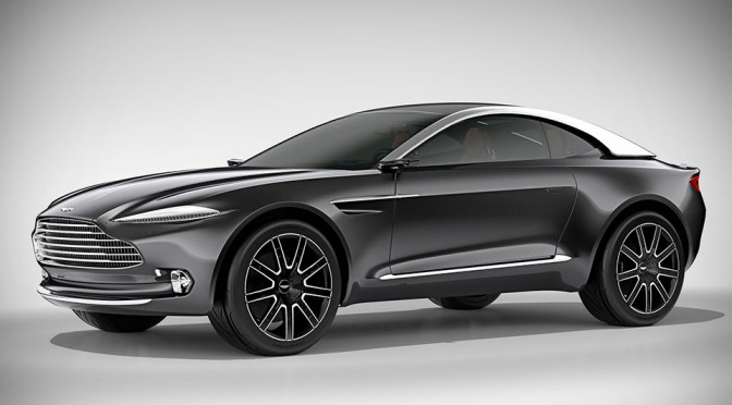 Aston Martin Took DBX Concept to Concorso d'Eleganza Villa d'Este