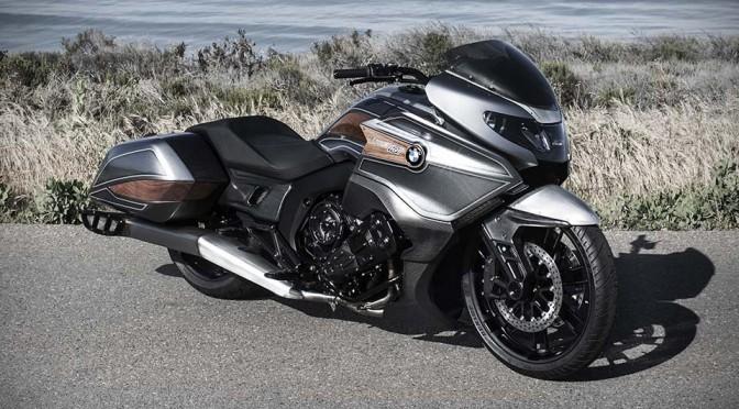 "BMW Concept 101 ""Bagger""-inspired Motorcycle Unveiled at Concorso d'Eleganza Villa d'Este"