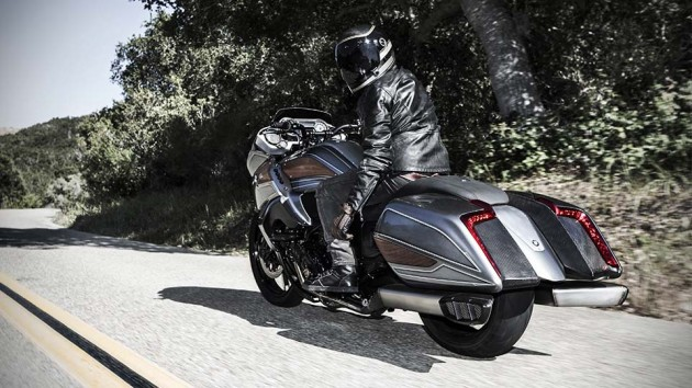 bmw concept 101 bagger inspired motorcycle unveiled at. Black Bedroom Furniture Sets. Home Design Ideas