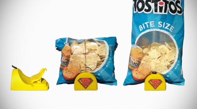 Bag Hero Wants to Eliminate Stale Chips, First by Getting the Bag to Stand