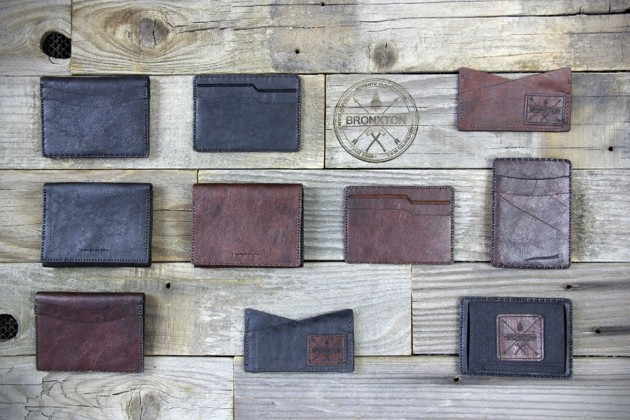 Bronxton Handcrafted Minimalist Leather Wallets