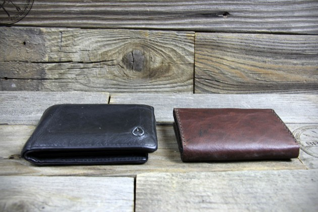 Bronxton Handcrafted Minimalist Leather Wallets - The Trifold