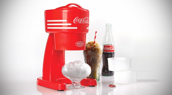 Coca-Cola Shaved Ice Machine Lets You Make Cool, Refreshing Treats