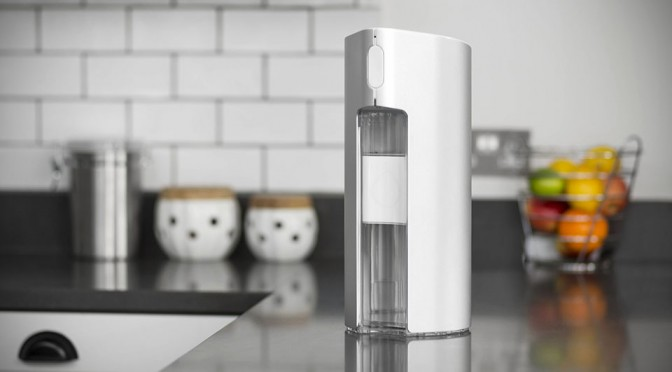Cove Water Purifier Gets Smart Treatment, Will Absorb All Impurities