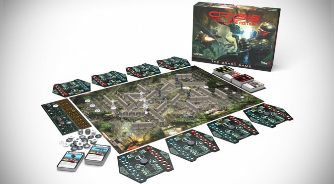Crysis Analogue Edition - The Board Game