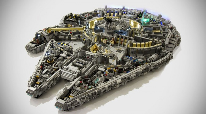 Singapore LEGO Enthusiasts Create 10,000-piece Insanely Detailed Minifig Scale Millennium Falcon