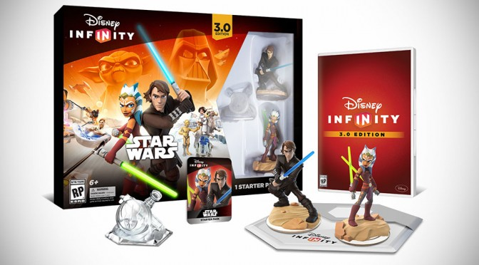 Star Wars Comes to Disney Infinity 3.0 Edition, Includes Star Wars: Twilight of the Republic Play Set