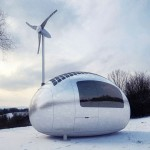Ecocapsule Portable House Generates its Own Electricity, Collects Water to Enable Off-the-Grid Living
