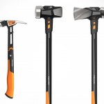 FISKARS IsoCore Striking Tools Will Absorb Shocks and Vibrations, Alleviating the Impact on the User