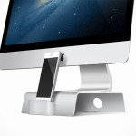 Fusion Stand: A Minimalistic Home for Your iMac, Apple Display and iPhone