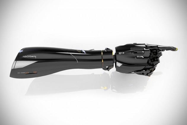 HACKberry Bionic Hand by exiii