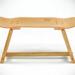 Dutch Company Makes Beautiful Furniture Out of Skateboard Decks