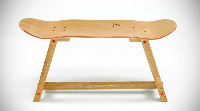 Dutch Company Makes Beautiful Furniture Out of Skateboard Decks