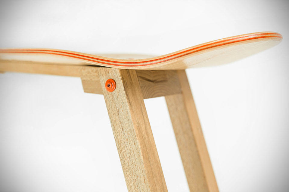 Handmade Skateboard Furniture By Baked / Roast