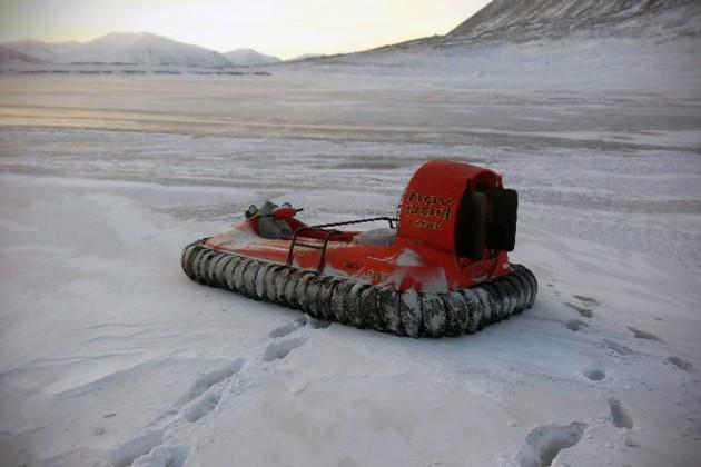 Hov Pod Hovercraft in Arctic