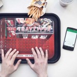 Never Mind About Greasy Fingers, KFC Tray Typer Will Let You Type Away Without Greasing Your Handset