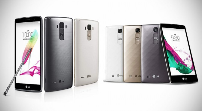 LG G4 Stylus and G4c Smartphones