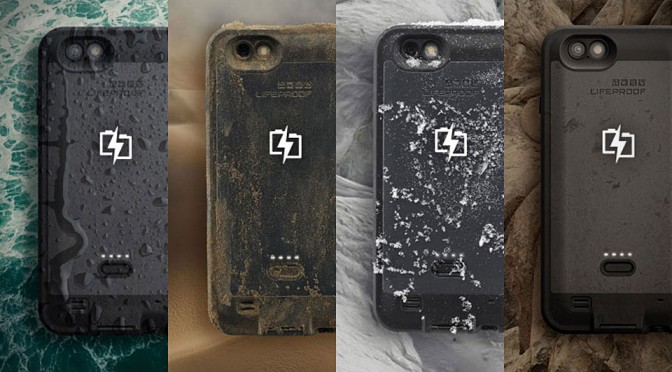 Lifeproof FrĒ Battery Case For Iphone 6