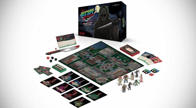 Mixtape Massacre Horror Themed Board Game
