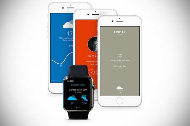 Moleskine Timepage Calendar iOS App