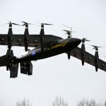 Watch NASA Massive Ten-engine Electric Drone Morphs From a Helicopter to a Plane While in Midair