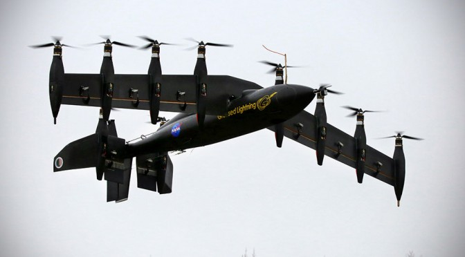 NASA Greased Lightning GL-10 VTOL Drone