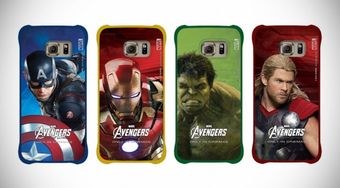 You Can Now Dress Up Your Galaxy S6 With These Avengers-themed Cases