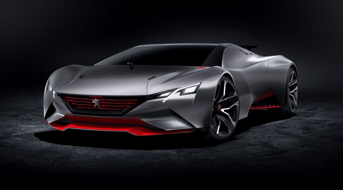You Can Experience 0-62 MPH in 1.73 Secs with Peugeot Vision Gran Turismo