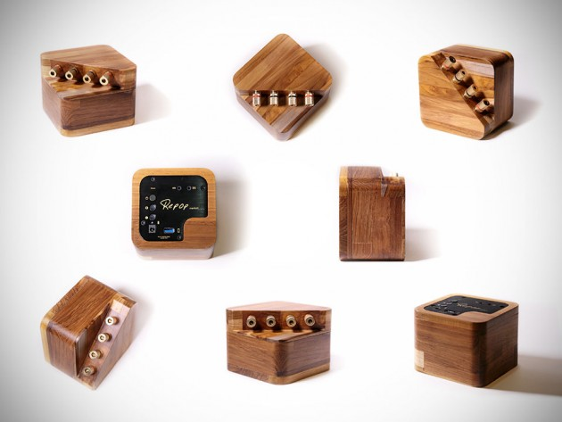 Repop Wooden Bluetooth-enabled Portable Amplifier