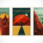 SpaceX Makes the Prospect of Space Travel Even More Alluring with These Retro Mars Tourism Posters