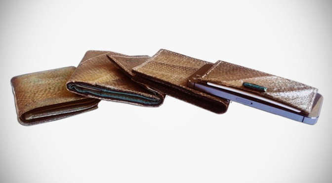 These Beautiful Salmon Leather Wallets Are Made from Byproducts from Sustainable Fisheries in Alaska