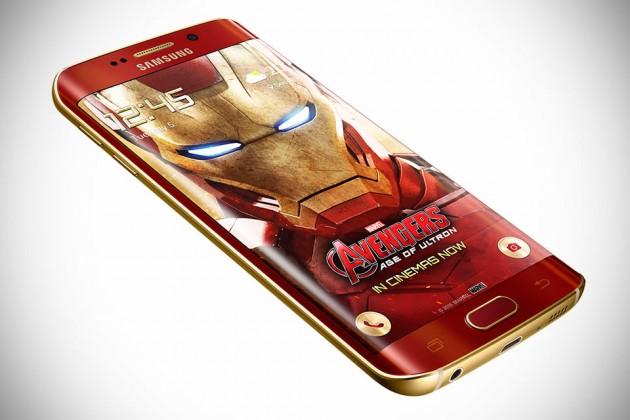 Samsung Iron Man Galaxy S6 Edge Smartphone