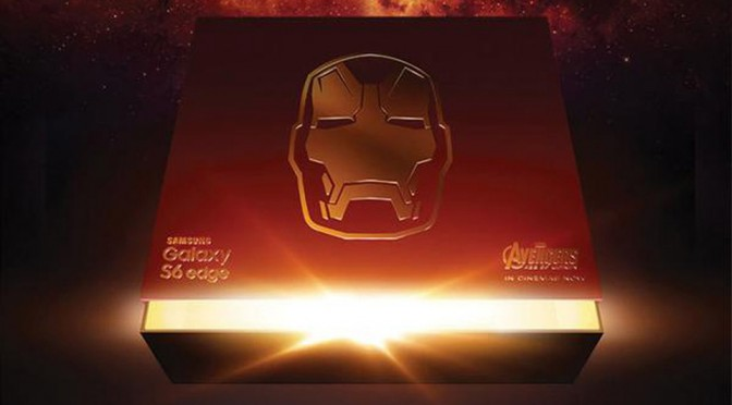 Are You Ready for an Iron Man-theme Samsung Galaxy S6 Edge Smartphone?