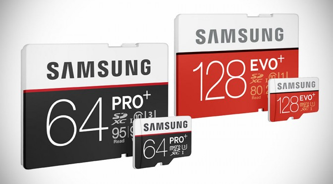 Samsung Adds Speedy PRO Plus and EVO Plus to its Memory Card Portfolio