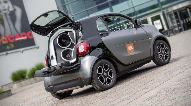 Smart Forgigs Concept Car by JBL
