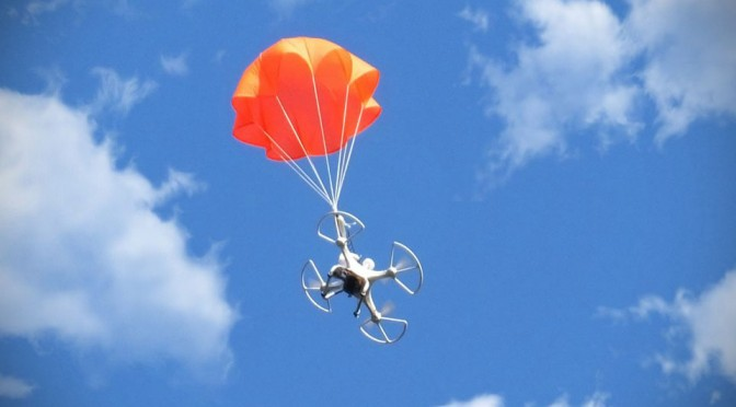 SmartChutes Drone Parachute Recovery System