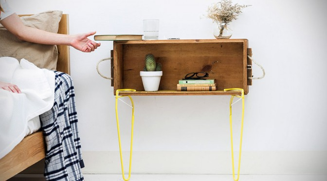 Making Your Own Table is a Snap with These Artistic Snap Furniture Legs