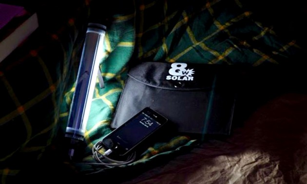 The Badger Waterproof USB Solar Charger