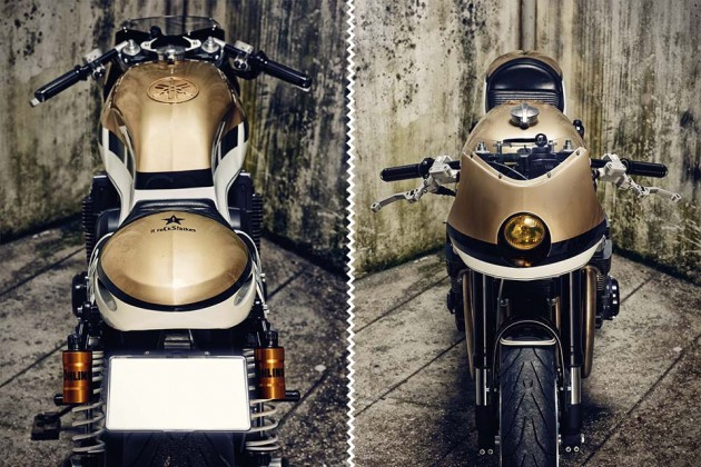 Yamaha XJR1300 'Dissident' Cafe Concept by it roCkS!bikes