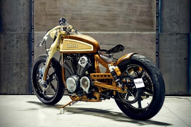 Yamaha XV950 'Playa del Rey' by Matt Black Custom Designs