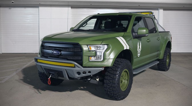 2015 Ford F-150 Halo 5 Sandcat