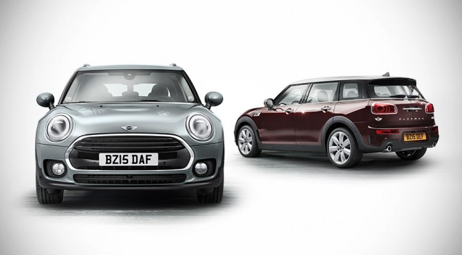 This is it. This is the New MINI Clubman and it is the Biggest MINI Yet