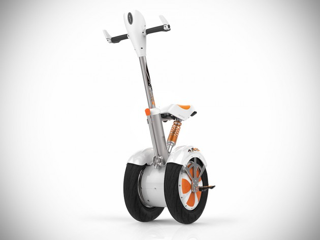 Electric Scooter With Seat >> Airwheel A3 is Like the Segway, but With Saddle and ...