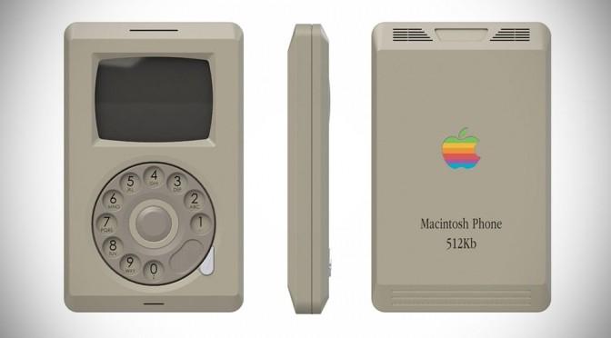 Apple Macintosh Phone by Pierre Cerveau