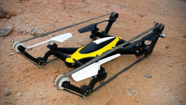 B-Unstoppable Tank Quadcopter Drone