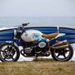 BMW Rolled into Wheels & Waves Festival with a Concept Motorcycle That Can Carry a Surfboard